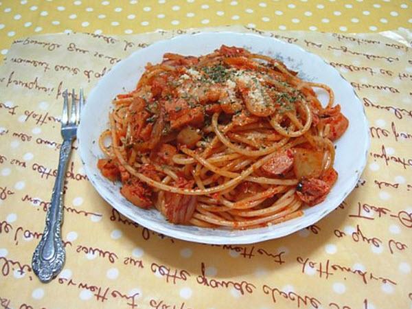 Spaghetti Kim Chi