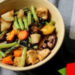 Nấm xào rau củ chay