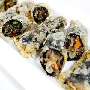 rong biển cuộn tôm thịt