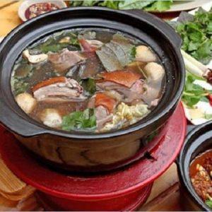 cách nấu lẩu dê ăn ngon