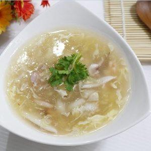 món súp hải sản