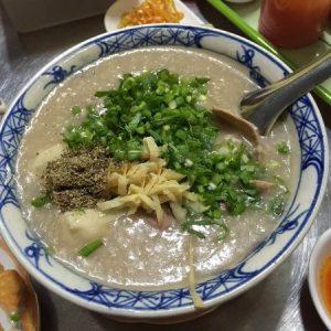 Món cháo tiều Quảng Đông