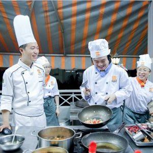 lớp học nấu ăn buổi tối ở Kiên Giang