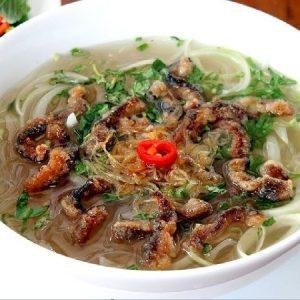 Món miến lươn Hà Nội
