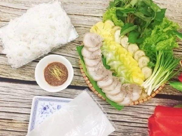 thực đơn món ăn hàng ngày trong gia đình